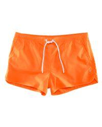 H&M | Orange Swim Shorts for Men | Lyst