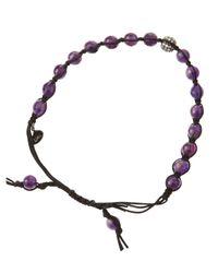 Tai | Purple Woven Amethystcolored Bead Bracelet | Lyst