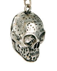ASOS - Metallic Asos Skull Pendant Necklace for Men - Lyst