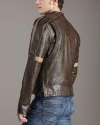 Belstaff - Black Hero Leather Jacket for Men - Lyst