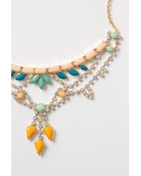 Anthropologie | Multicolor Noronha Bib Necklace | Lyst