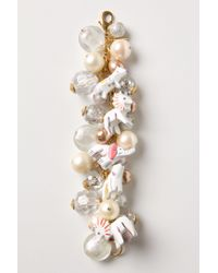 Anthropologie | White Snow Animal Charm Bracelet | Lyst
