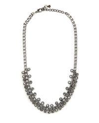 BaubleBar - Metallic Smokey Seurat Collar - Lyst