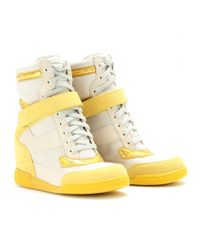 Marc By Marc Jacobs - White Kisha Hidden Wedge Sneakers - Lyst