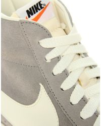 Nike | Gray Blazer Mid Premium Vintage Medium Grey Sail for Men | Lyst