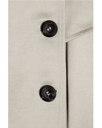 Burberry Prorsum - Natural Cotton-sateen Trench Coat - Lyst