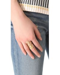 Jacquie Aiche - Metallic Extra Long Snake Ring - Lyst
