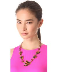 Marc By Marc Jacobs - Brown Petal To The Metal Necklace - Lyst