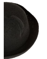 TOPSHOP - Black Cat Ear Hat - Lyst