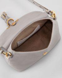 Chloé | Gray Marcie Crossbody Bag | Lyst