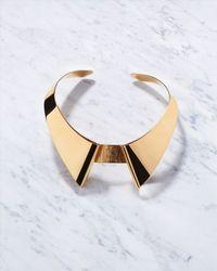 Jaeger | Metallic Scott Wilson Collar Necklace | Lyst