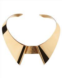 Jaeger - Metallic Scott Wilson Collar Necklace - Lyst