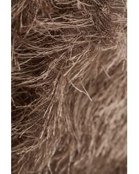 TOPSHOP - Brown Fluffy Jumper By Oh My Love - Lyst