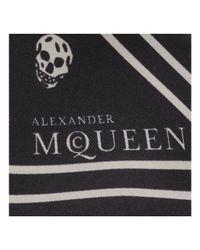 Alexander McQueen | Black Wrap Scarf Bracelet | Lyst