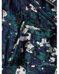 Opening Ceremony - Blue Floral Jacquard Jacket for Men - Lyst