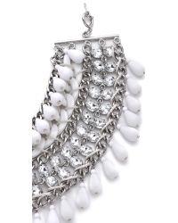 By Malene Birger - Metallic Bikum Bib Necklace - Lyst