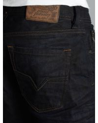 DIESEL   Blue Larkee 806x Straight Fit Jeans for Men   Lyst