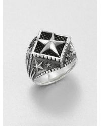 King Baby Studio | Metallic Sterling Silver Star Ring | Lyst