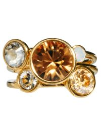Ted Baker - Metallic Jewel Cluster Ring - Lyst