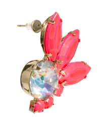 ASOS - Multicolor Stone Mini Drop Earrings - Lyst