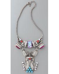 DANNIJO - Metallic Cota Necklace - Lyst