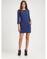 Rag & Bone Blue Harlow Dress
