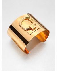 Tory Burch - Metallic Door Knocker Cuff Bracelet - Lyst
