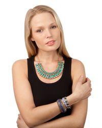 BaubleBar - Blue Notre Bracelet - Lyst