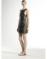 Gucci - Gray Tiger Print Silk Dress for Men - Lyst