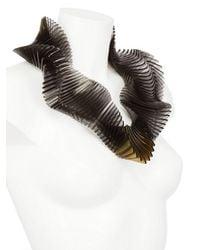 Sarah Angold Studio - Black Super Relay Necklace - Lyst