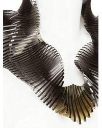 Sarah Angold Studio | Black Super Relay Necklace | Lyst