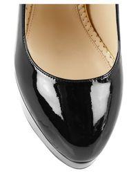 Charlotte Olympia Black Marple Patent Leather Maryjane Pumps