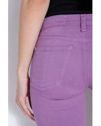 Rag & Bone - Purple 10 Inch Legging Jeans - Lyst