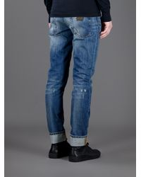 Dolce & Gabbana | Blue Stone Washed Jeans for Men | Lyst