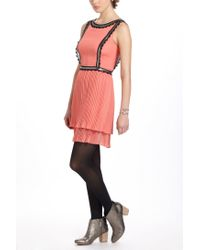 Tracy Reese - Pink Cleo Pleated Dress - Lyst