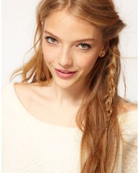 Cath Kidston - Metallic Pearl Earrings - Lyst