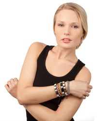 BaubleBar | Metallic Gold Brooks Bracelet | Lyst