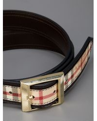 Burberry | Brown Bensham Belt | Lyst