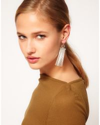 Cheap Monday - Metallic Shape Earrings - Lyst
