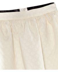 H&M | White Flared Skirt | Lyst