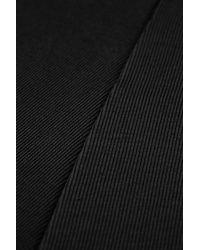 TOPSHOP | Black Clean Seam Flippy Tunic | Lyst