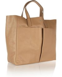Anya Hindmarch | Natural Nevis Raw Leather Tote Bag | Lyst