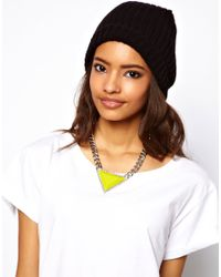 ASOS - Yellow Curb Chain Triangle Necklace - Lyst