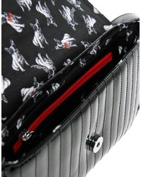 Ted Baker   Black Skapari Patent Crossbody Bag   Lyst