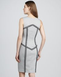 Rachel Zoe | Gray Elsa Outlined Polkadot Dress | Lyst