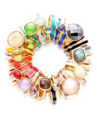 Astley Clarke - Metallic Citrine Cushion Ring - Lyst