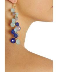 Rosantica - Blue Rami Opal Agate and Aquamarine Earrings - Lyst