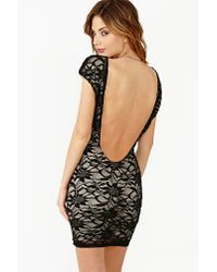 Nasty Gal - Black Midnight Lace Dress - Lyst