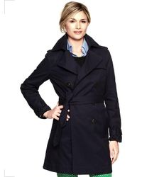 Gap | Blue Trench Coat | Lyst