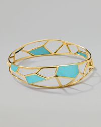 Ippolita - Metallic Polished Rock Candy Mosaic Bangle  - Lyst